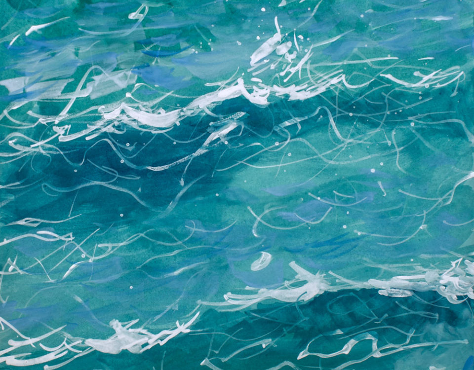 Amanda Kaay • Original Art • Waves